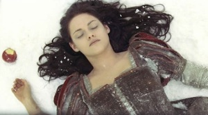 Snow White falls asleep after eating an apple