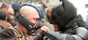Batman and Bane Battle