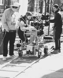 Dolly move during scene 1