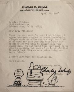 Schulz Letter